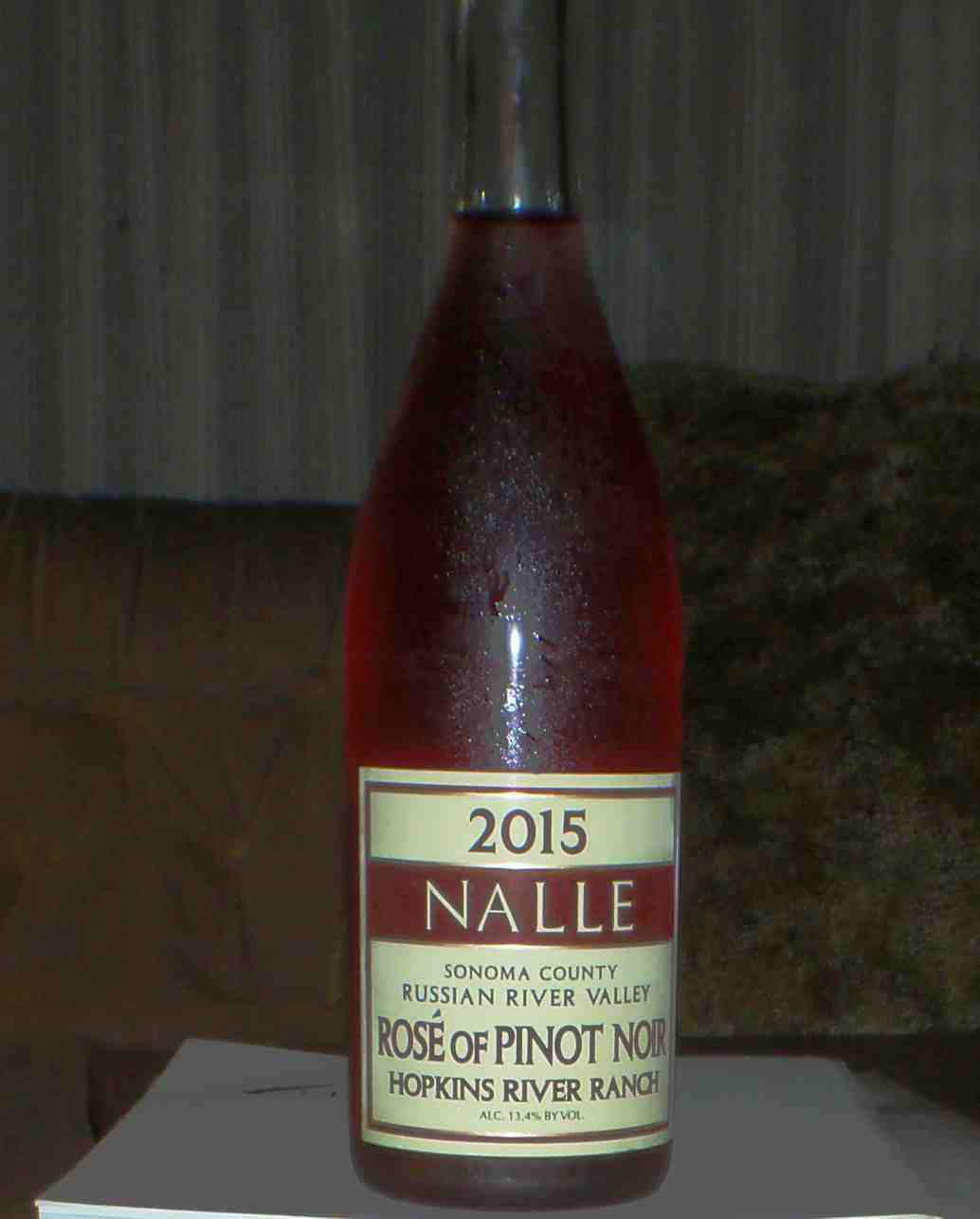 Nalle Hopkins Pinot Rose