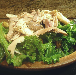 Leftover Roast Chicken & Bread Salad